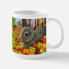 Hare 40 rabbit fall Mugs