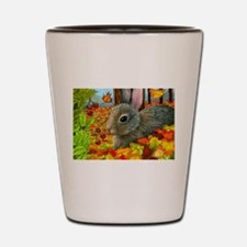 Funny Hare Shot Glass