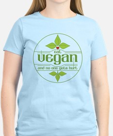 Eat Vegan and No One Gets Hu T-Shirt