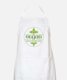 Eat Vegan and No One Gets Hurt Apron