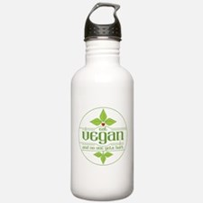 Eat Vegan and No One G Water Bottle
