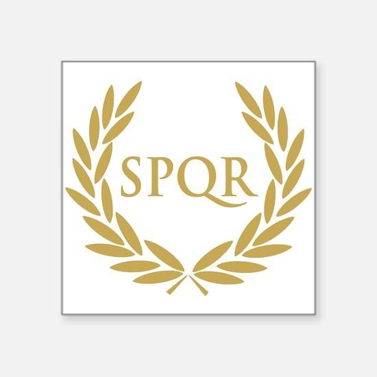 Rome SPQR Roman Senate Seal Sticker