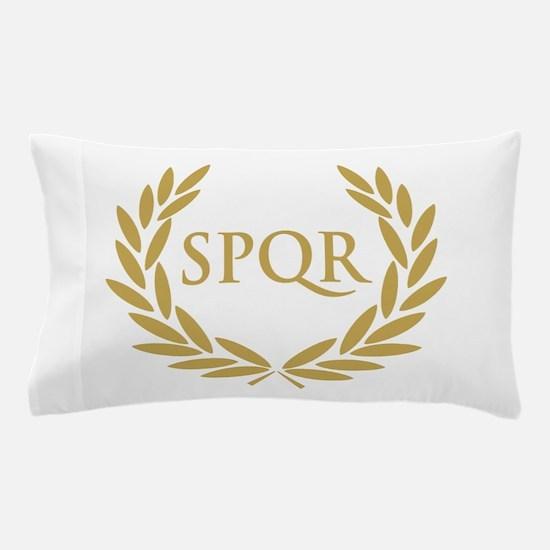 Rome SPQR Roman Senate Seal Pillow Case