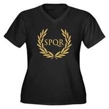Rome SPQR Roman Senate Seal Plus Size T-Shirt