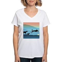 Dogs Chasing Ball Shirt