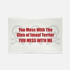 Mess With Glen Rectangle Magnet (100 pack)