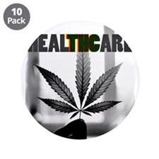 "healTHCare 3.5"" Button (10 pack)"