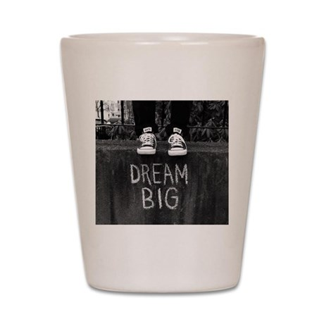 dream big shot glass by lunaazulstudio. Black Bedroom Furniture Sets. Home Design Ideas