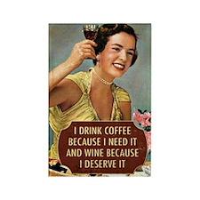 Drink Wine Magnets