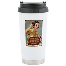 Drink Wine Travel Mug