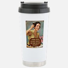 Drink Wine Travel Mug