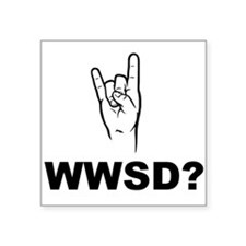 What Would Satan Do? WWSD? Sticker