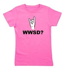 What Would Satan Do? WWSD? Girl's Tee