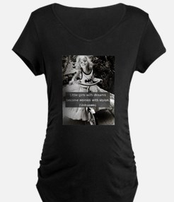 Girls with Dreams Maternity T-Shirt