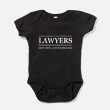 Lawyers do it justice prevails Baby Bodysuit