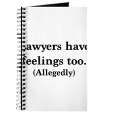 Lawyers have feelings too Journal