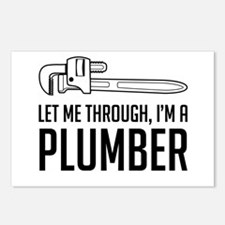 Let me through I'm a plumber Postcards (Package of