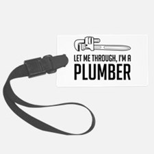 Let me through I'm a plumber Luggage Tag