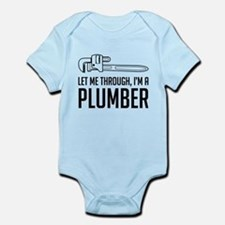 Let me through I'm a plumber Body Suit