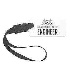 Let me through engineer Luggage Tag