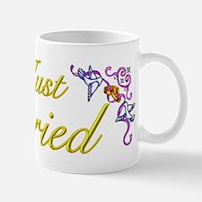 Just Married Yellow Mug