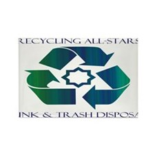Recycling All-Stars Logo Magnets