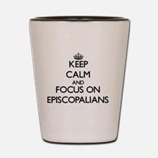 Funny Episcopalian Shot Glass
