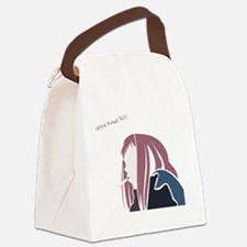 Never knows Best Canvas Lunch Bag