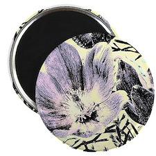 Pastel tulip sketch Magnets