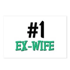 Number 1 EX-WIFE Postcards (Package of 8)
