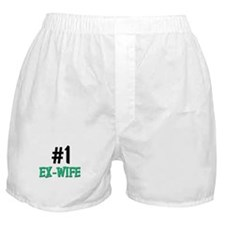 Number 1 EX-WIFE Boxer Shorts