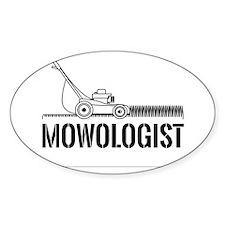 Mowologist Decal
