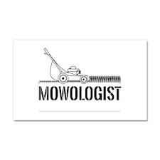 Mowologist Car Magnet 20 x 12
