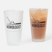 Mowologist Drinking Glass