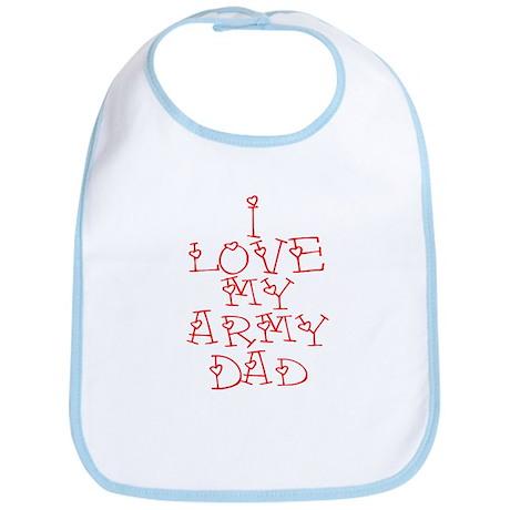 My Army Dad Bib