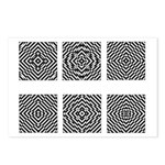 Optical Illusions Postcards (8)