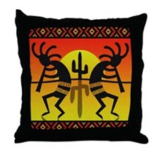 Cute Kokopelli Throw Pillow