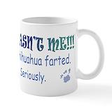 Chihuahua dad mugs Coffee Mugs