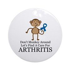 Arthritis Find a Cure Ornament (Round)