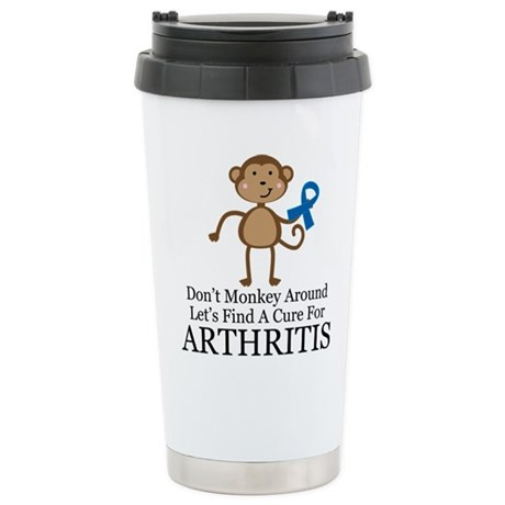 Arthritis Find a Cure Stainless Steel Travel Mug