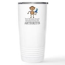Arthritis Find a Cure Travel Coffee Mug