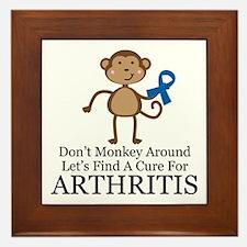 Arthritis Find a Cure Framed Tile
