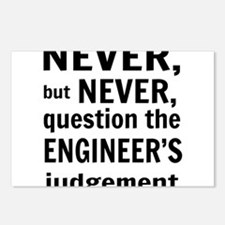 Never but never engineer Postcards (Package of 8)
