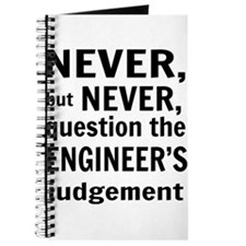 Never but never engineer Journal