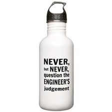 Never but never engineer Water Bottle