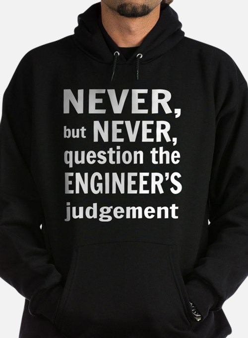 Never but never engineer Hoody