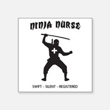 Ninja nurse Sticker