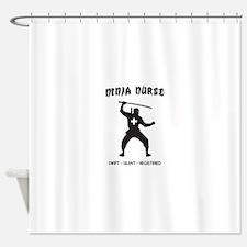 Ninja nurse Shower Curtain