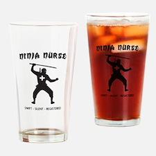 Ninja nurse Drinking Glass