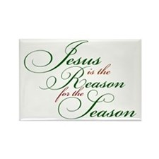 Jesus is the Reason for the Season Magnets